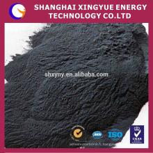Carbure de silicium noir de W utilisé dans le verre, la céramique, la pierre, le matériel réfractaire, la fonte et le métal non ferreux, etc.