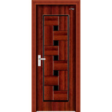 Steel Wooden Panel Door