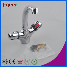 Fyeer High Quality Basin Water Tap Mixer Bathroom Thermostatic Faucet