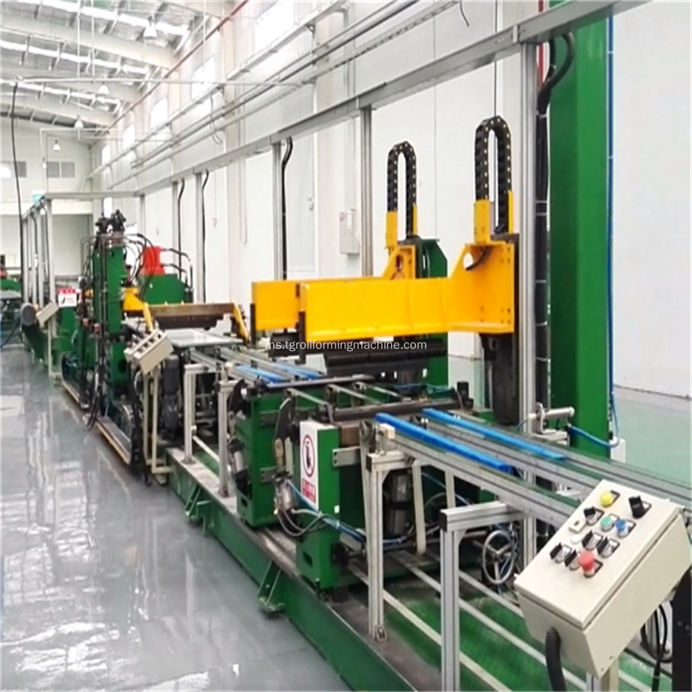 Refrigerator U Shell Side Panel Roll Forming Line