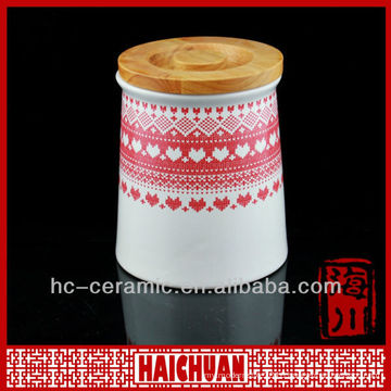 Ceramic spice container, spice canister