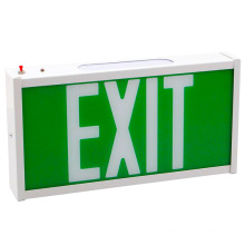 Qatar red green acrylic fire exit sign led