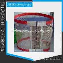 banda transportadora de teflón de fibra de vidrio