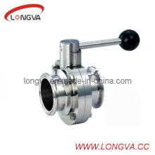 Válvulas de borboleta de aço inoxidável 316L de alto desempenho