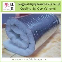 Tubos de aislamiento de conductos HVAC resistentes al calor de aluminio