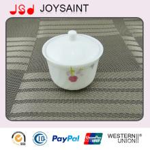 Opal Glass Sugar Pot