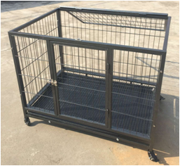 large tube dog cage