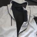 Ganzer Verkauf China glühen im dunklen hellen 3m reflektierenden Jackenmantel für outwear