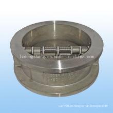 Válvula de retenção de porta dupla tipo Wafer