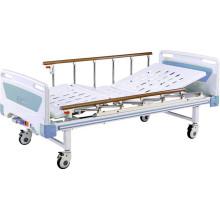 Hospital móvil de dos funciones Full-Fowler Bed con cabeceras de ABS