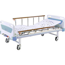 Hospital Movable Two Function Full-Fowler Bed with ABS Headboards