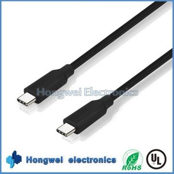 100W Supermacht 10gbps Dual USB 3.1 Typ C zum Typ C Daten USB Kabel