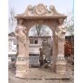 Cadre de porte en pierre de marbre en bois pour porte porte étroite (DR006)