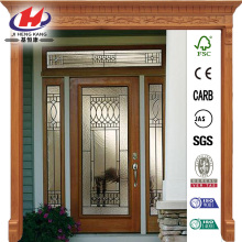 Glass Full Lite Primed Prehung Front Door
