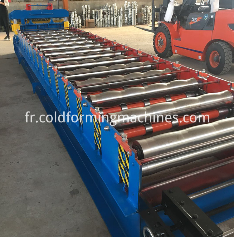 roofing glazed tile roll forming machine