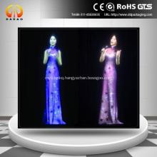 8 meters transparent foil projection film