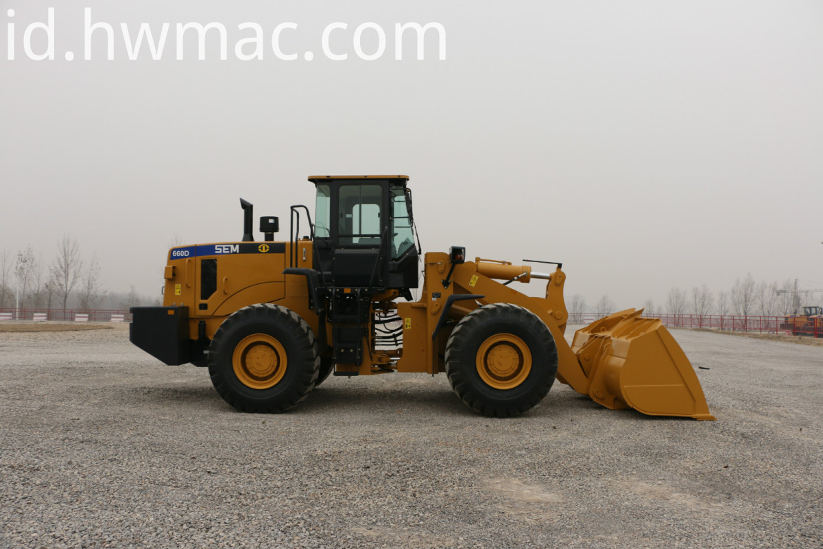 SEM660D Wheel Loader