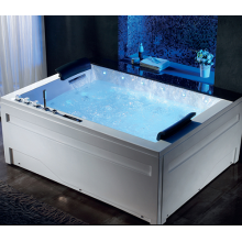 Acrylic Bathtub Whirlpool Massage Portable Bathtub