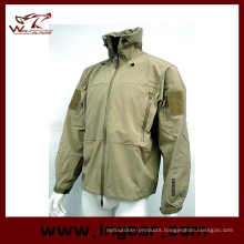 Military Winter Jacket Men′s Coat Motorcycle Sharkskin Jacket