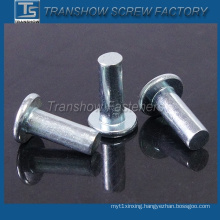 Steel Galvanized Flat Head Solid Rivet