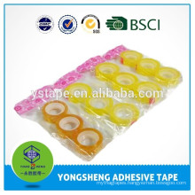 Custom bopp clear office stationery tape used for gift box pack
