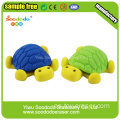 Small Blue Tortoise Shaped Eraser ,puzzle school stationery
