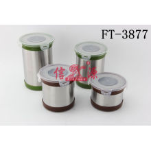 Stainless Steel Food Storage (FT-3877)