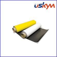 Feuille magnétique en caoutchouc PVC (F-007)