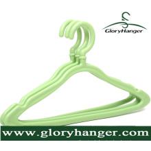 Großhandel Farbe Kunststoff Kleiderbügel für Hausgebrauch