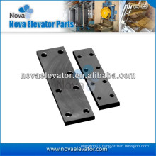 Elevator Fishplate for Machined / Cold Drawn Elevator Guide Rail
