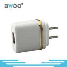 Adaptateur EU / Us de chargeur de mur de l'USB 2A unique pour le mobile