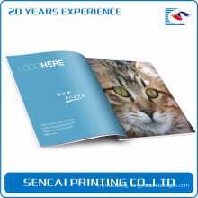 Sencai Perfect Customized Design Fashion nature Magazine printing
