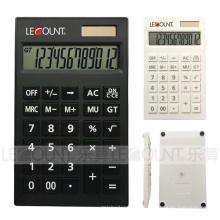 Calculadora de mesa de 12 dígitos de dupla energia para escritório, banco e finanças (CA1120A)