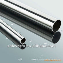 chrome finished steel tube
