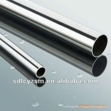 tube en acier fini par chrome