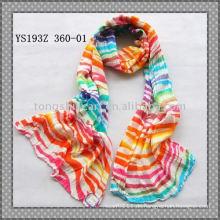 Gekräuselte Viskose-Schals / gedruckte Schals