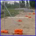 Removeable construction metal provisional fence