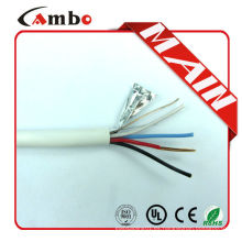 Los pares multi de la buena calidad encallaron cca / ccs / bc / ofc 12 cable plano de la base