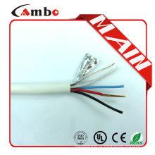 Boa qualidade multi pares varados cca / ccs / bc / ofc 12 core flat cable