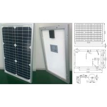 18V 20W 25W Monocrystalline Solar System Panel PV Module with Ce Approved