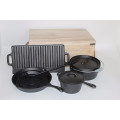 cast iron camping cookware sets