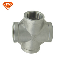 Stainless steel crosses pipe fittings