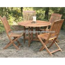 Eukalyptus Massivholz Outdoor / Garten Möbel Set
