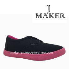2016 zapatos de lona ocasionales de la moda E80-L