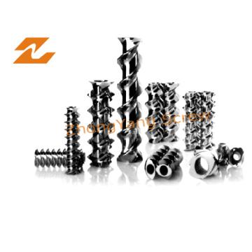 Пластичный Штрангпресс винта элементов и сегментов ствола