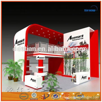 easy to foldable and install portable display booth gold supplier in shanghai