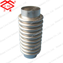 Flanged Elastic Vacuum Expansion Joint Metal Bellows