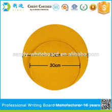 8mm Cork notice board with round shape