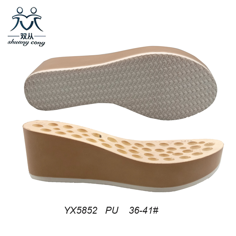 Polyurethane Shoe Sole For Sandals