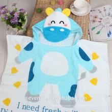 100% хлопок печатных мультфильм дети с капюшоном детская ванночка полотенца ГДТ-010 оптом